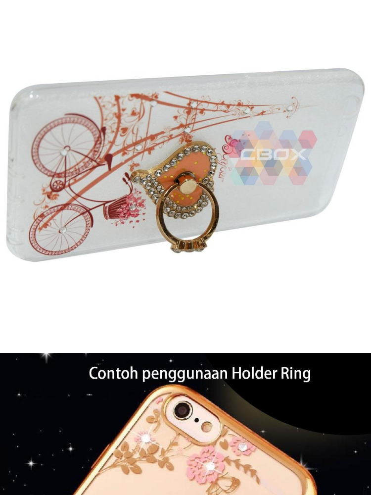 Love Phone Holder Ring Mutiara Jelly Silicone Casing. Source · Order via .