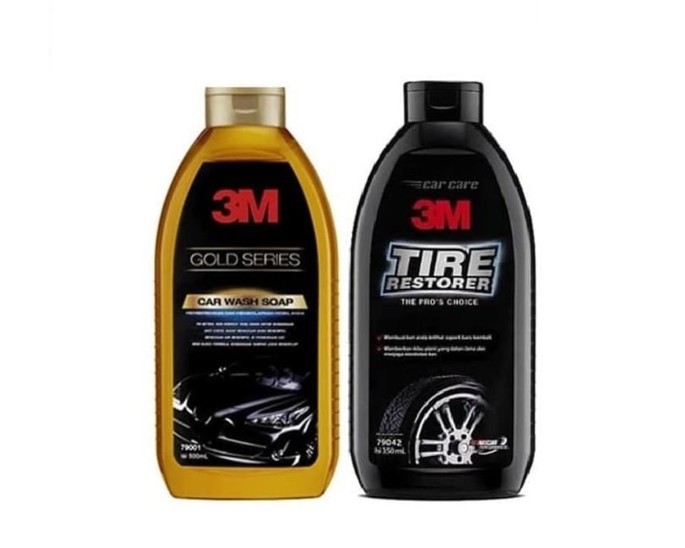 3m Paket Exterior Pack Car Wash Gold Tire Restorer Sampo Pembersih Mobil Dan Semir Ban Mobil Dg Harga Murah Lazada Indonesia