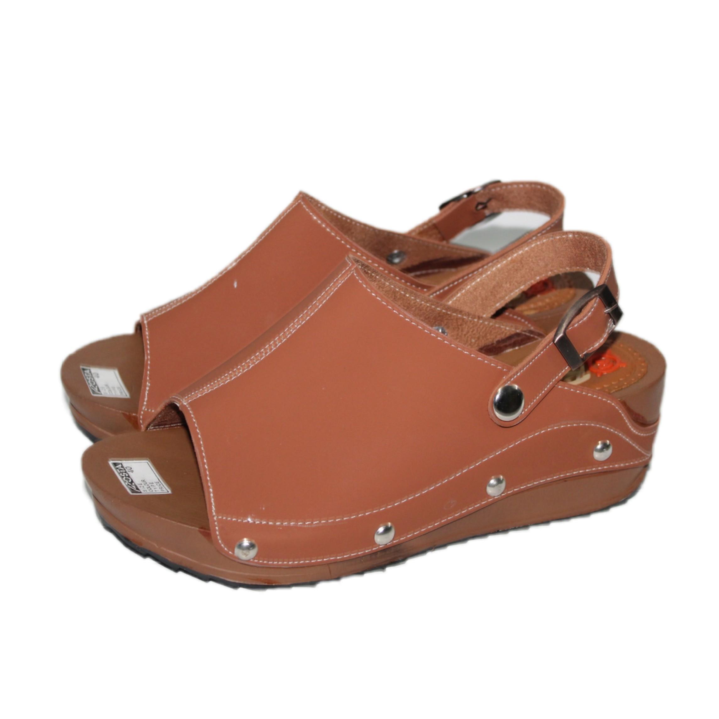 Spesifikasi dari Arsy / Sandal Wedges Wanita - Tan