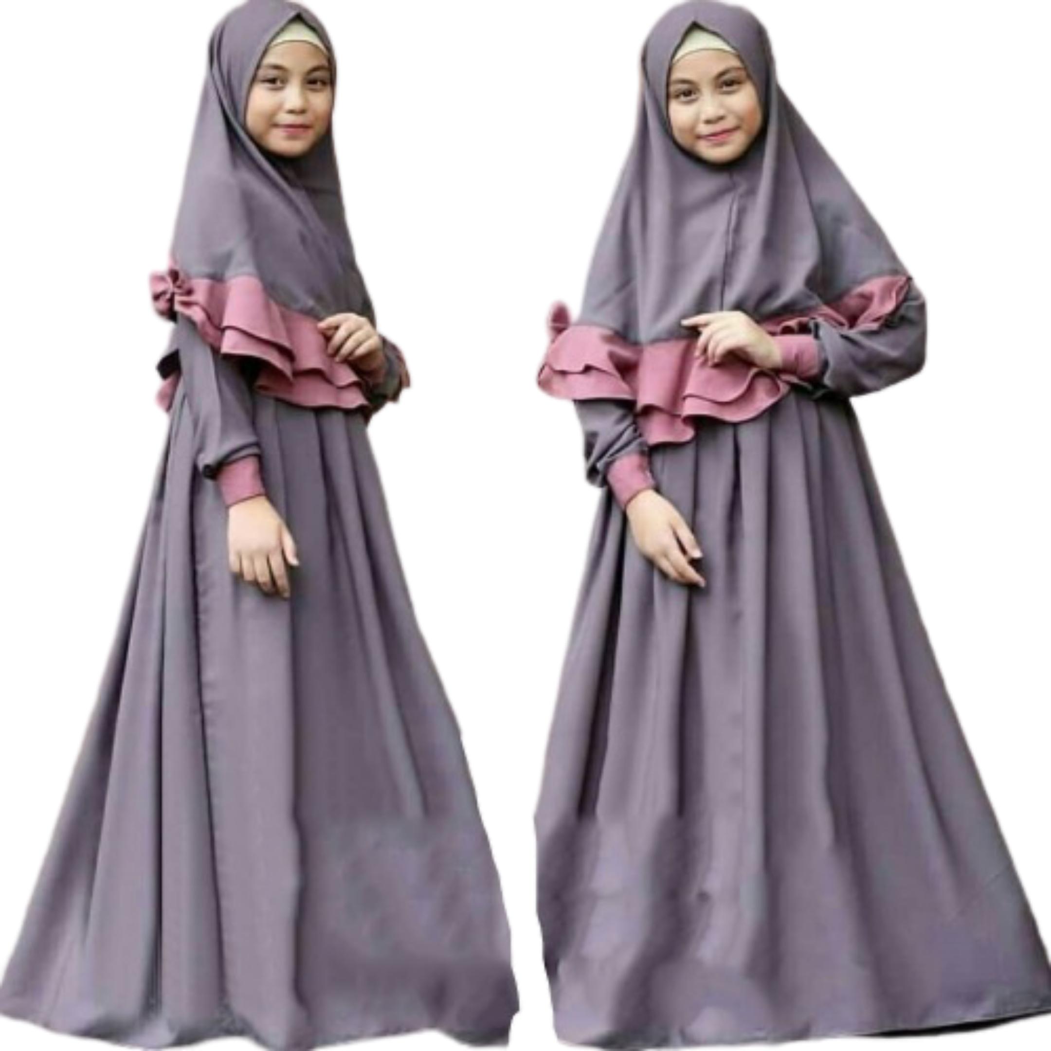 Gamis anak terbaru 10 / Model gamis anak terbaru 10 / Baju anak  perempuan terbaru 10 / Baju muslim anank perempuan terbaru / Gamis anak  remaja /