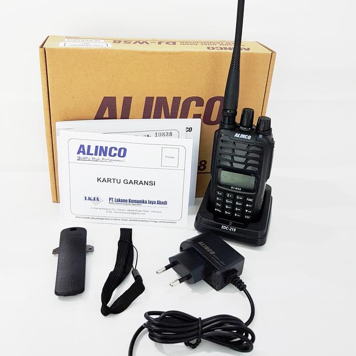 Alinco DJ-W58 Dual Band Waterproof & Dustproof IP67