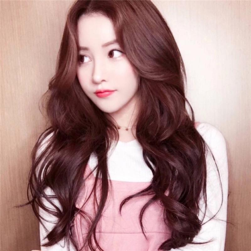 Wig Rambut Wanita Panjang Bergelombang Korean Version New Hair Women Rambut Palsu Natural Hair Extension Lazada Indonesia