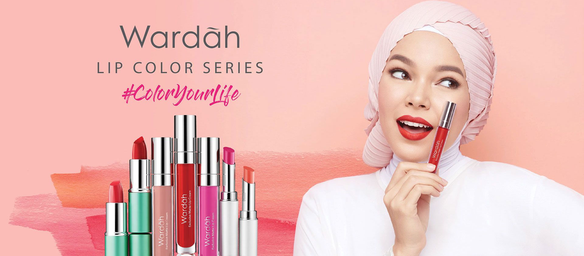 Wardah Exclusive Matte Lip Cream No 17 Rosy Cheek Lazada Indonesia Detail Produk Dari