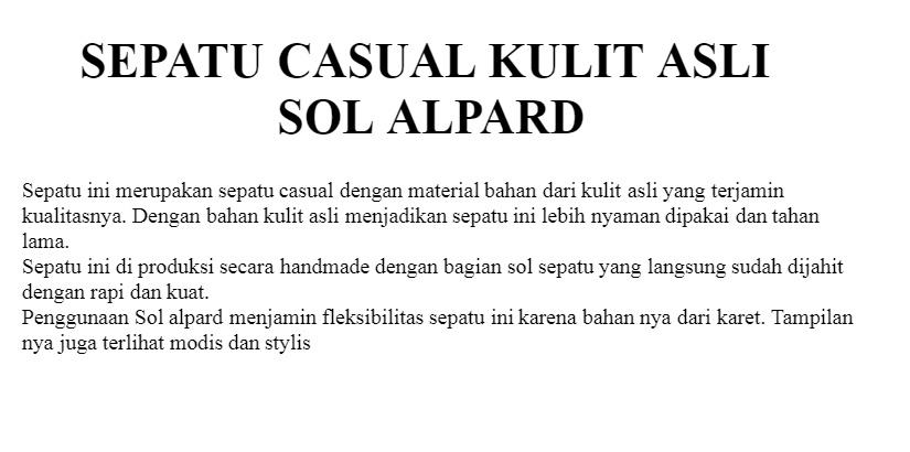 ATTAYA DESIGN SEPATU CASUAL PRIA KULIT ASLI TERMURAH SR06 - JUAL SEPATU -  JUAL SEPATU PRIA 08ba487fcd