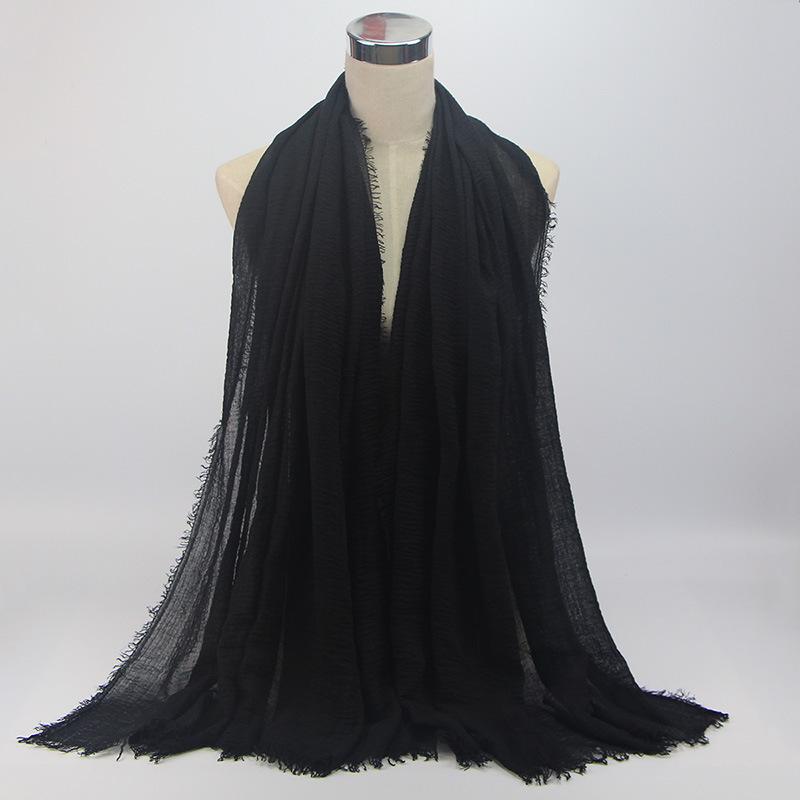 Hijab Tr07 Premium Crinkle Arabian Impor Jilbab Pashmina Shawl Katun Modis Cutton Scarf Syal Lazada Indonesia