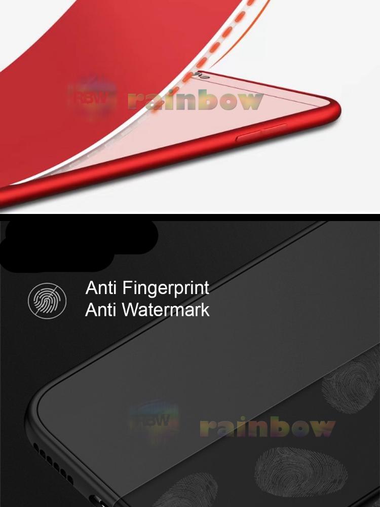 Rainbow Soft Case 360 Vivo Y66 Black (2in1) Baby Skin Softcase Vivo Y66 / Case Fullbody Depan Belakang Vivo Y66 / Silikon Vivo Y66 2 in 1 Double Case Vivo ...