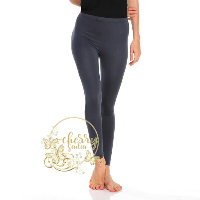 Celana Legging Wanita Leging Panjang Polos Bahan Jersey Import Licin Leging Wudhu Premium Lazada Indonesia