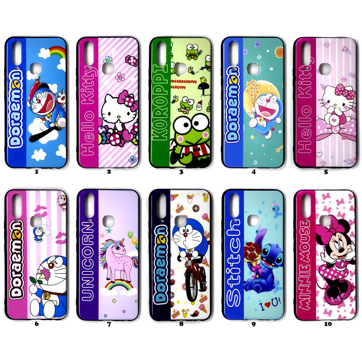 Vivo Y12 Y15 Y17 Case Karakter Boneka Gambar Doraemon Hello Kitty Minnie Mouse Keroppi Unicorn Stitch Lazada Indonesia