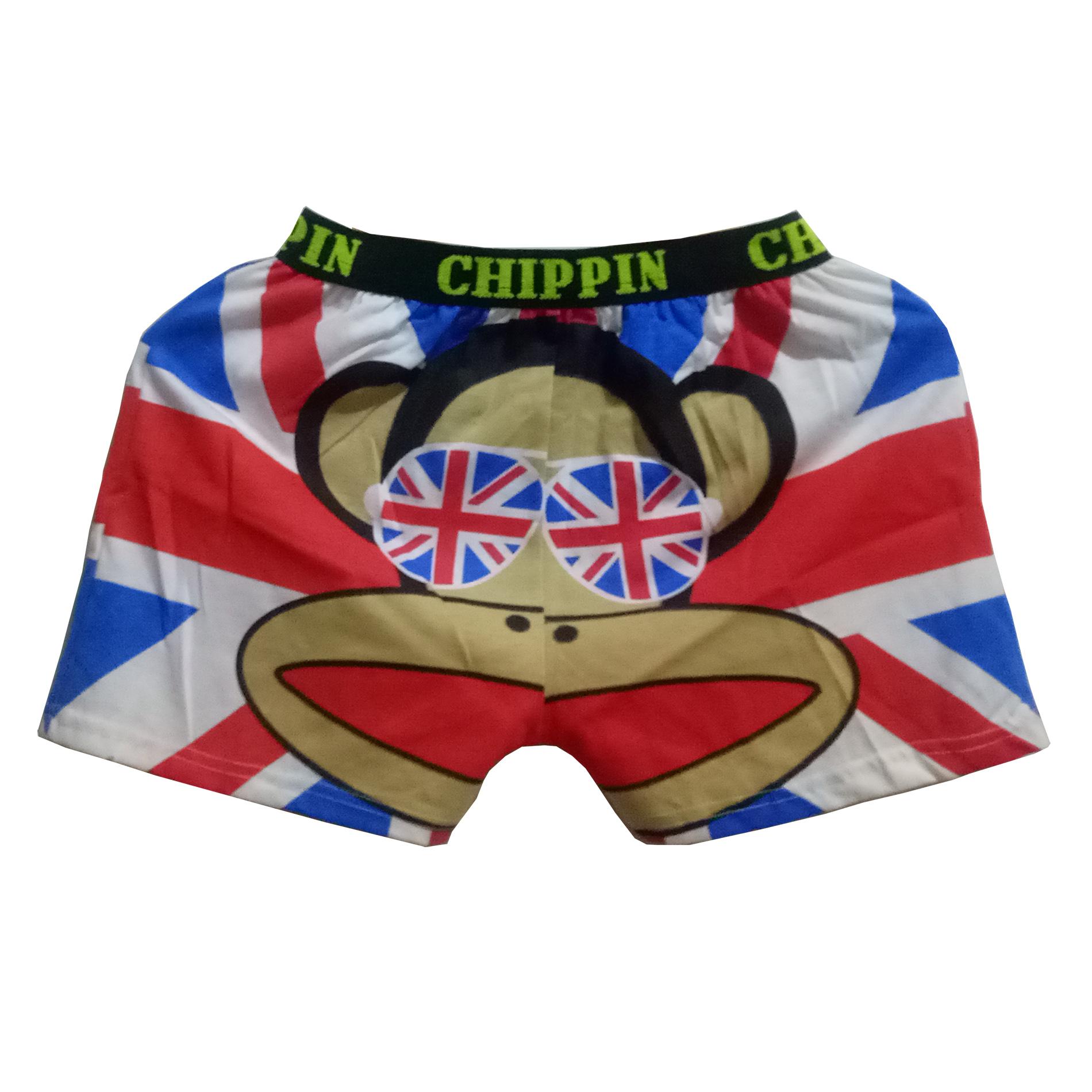 Boxer Lucu Kartun Mongkey England Celana Santai