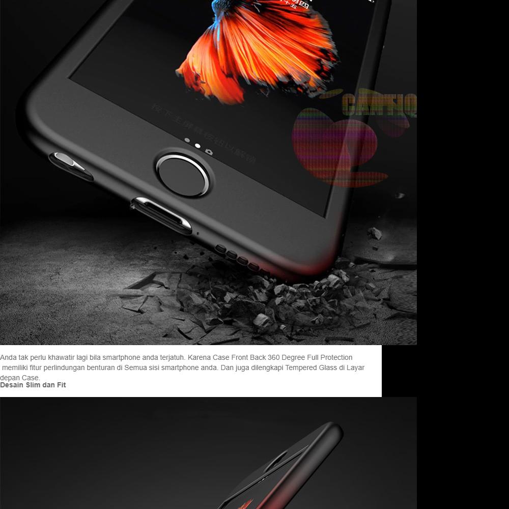 Icantiq Case Vivo Y79 Premium Front Back 360 Degree Full Protection Softcase Vivo Y79 / (