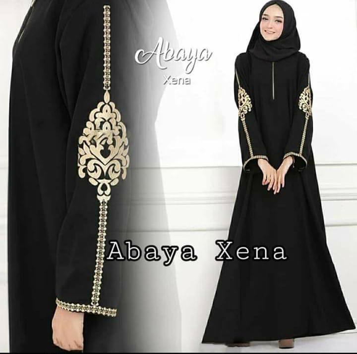 Abaya Arab Dubai Turki Dewasa Bordir Baju Gamis Syar I Syari Muslim Dres Terusan Wanita Terbaru 2019 Lazada Indonesia