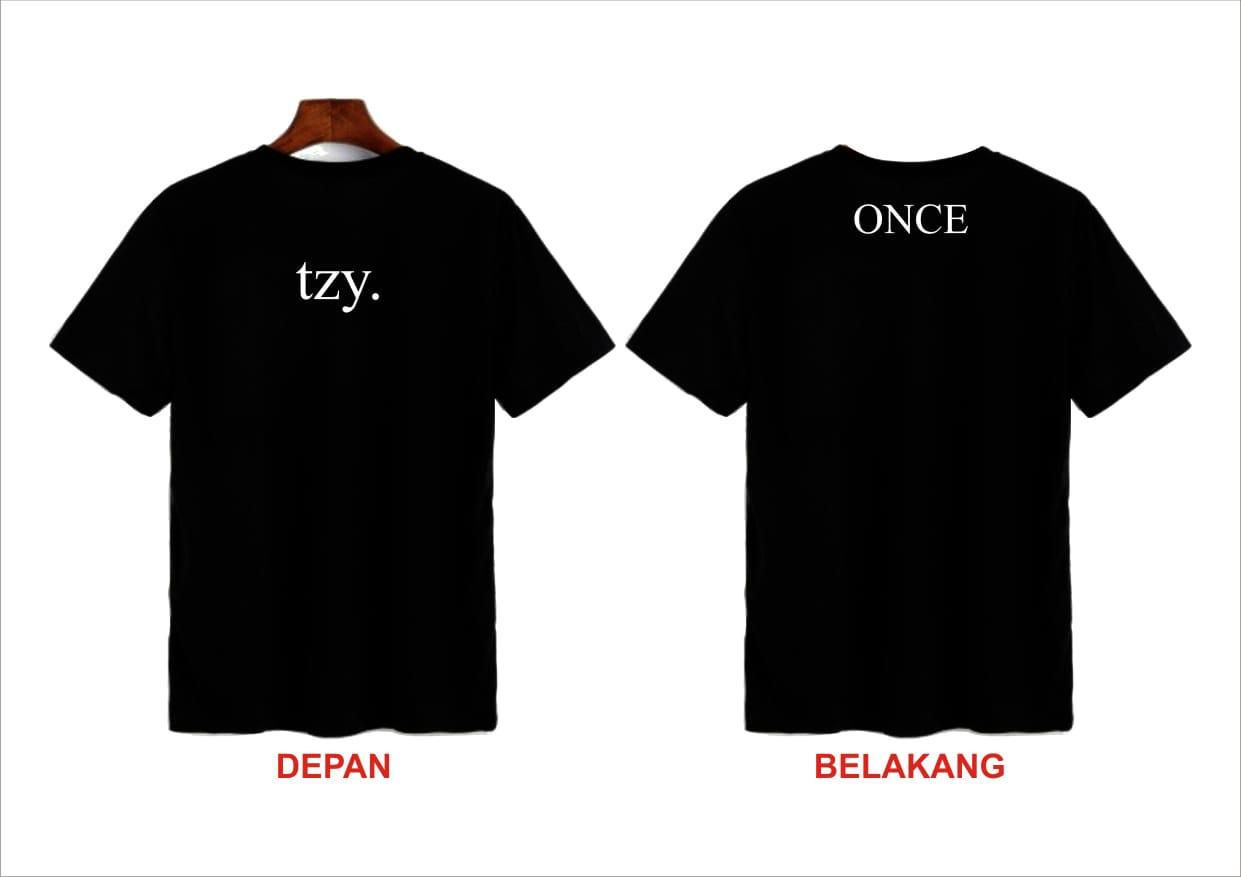 Kaos T Shirt Distro Pria Kaos Pria Anime Kaos T Shirt Pria Bisa Request Custom Nama Kata Kata Depan Belakang Lazada Indonesia