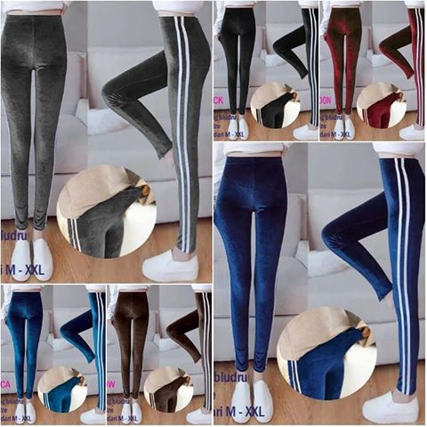 Labelledesign King Fashion Celana Legging List Bludru Import Bahan Bludru Velvet Fit To Xl 592 Lazada Indonesia