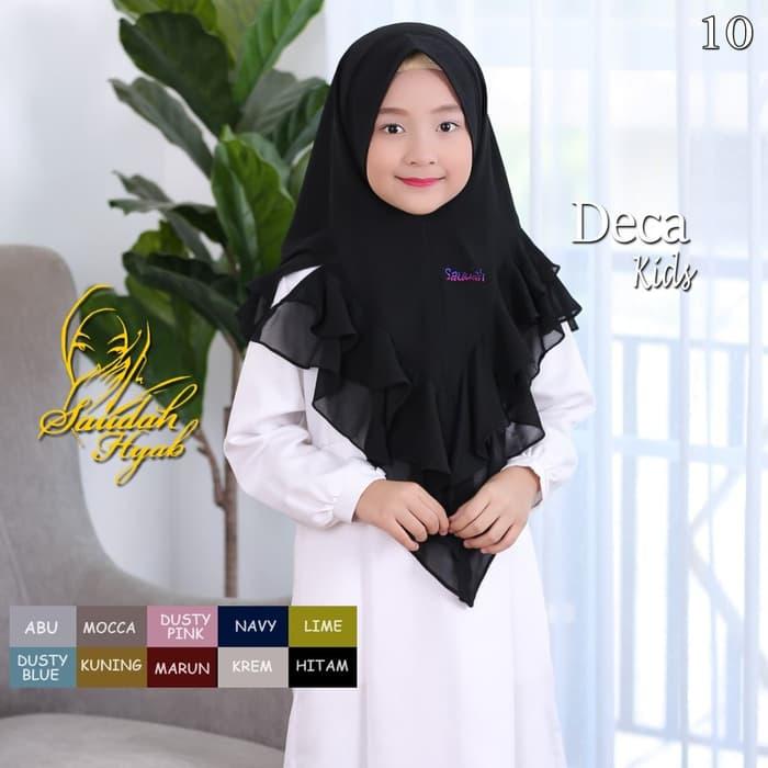 Tof Jilbab Instan Anak Kerudung Langsung Pakai Jilbab Anak Perempuan Usia 3 10 Tahun Khimar Syari Hijab Syar I Khimar Deca Kids Lazada Indonesia