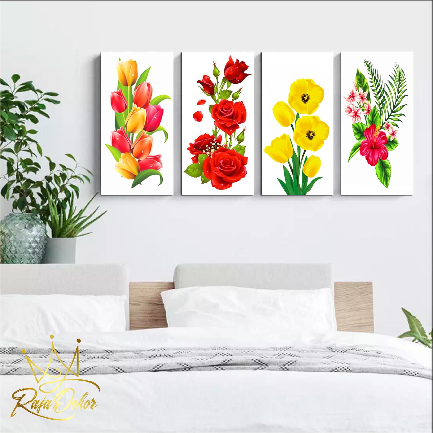 Rd Drawing Of Flowers 15x30 Dekorasi Dinding Kamar Pajangan Dinding Ruangan Rumah Dekorasi Rumah Wall Decor Lukisan Dinding Pigura Kayu Lazada Indonesia