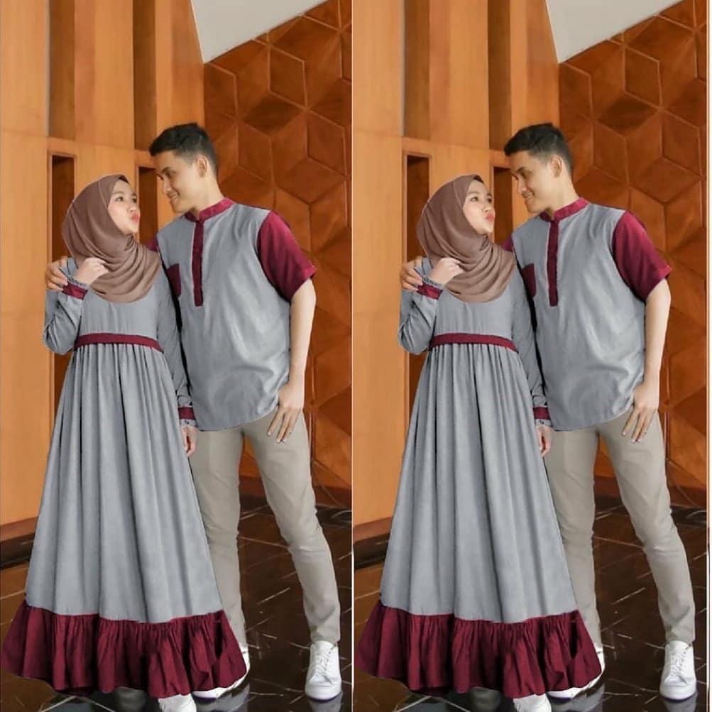 Arona Couple Gamis Brukat Gamis Couple Murah Baju Wanita Baju Pria Kemeja Couple Baju Muslim Terbaru Model Gamis Terbaru Baju Couple Terbaru Baju Couple