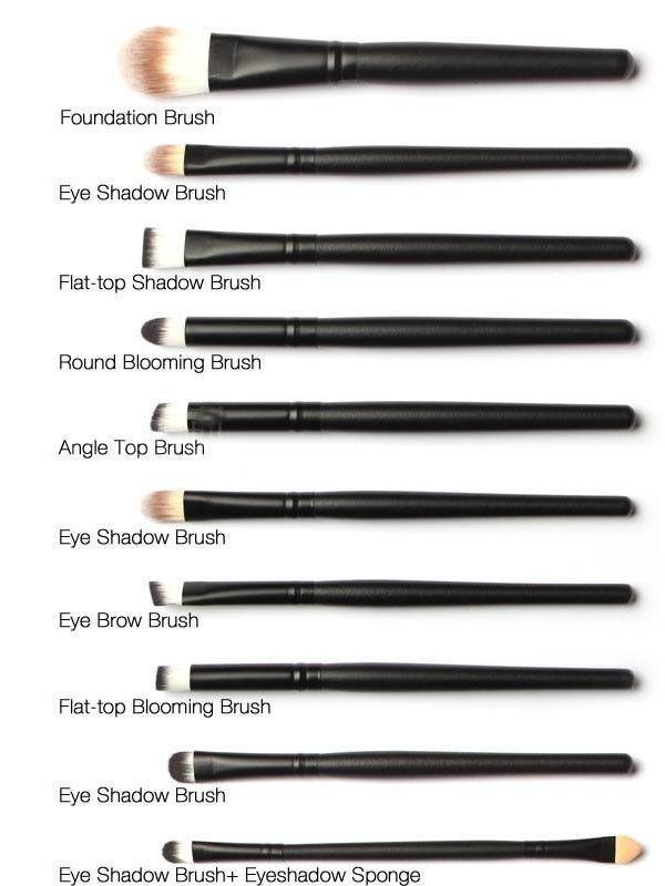 Kuas Makeup Isi 20 Pc Make Up Brush