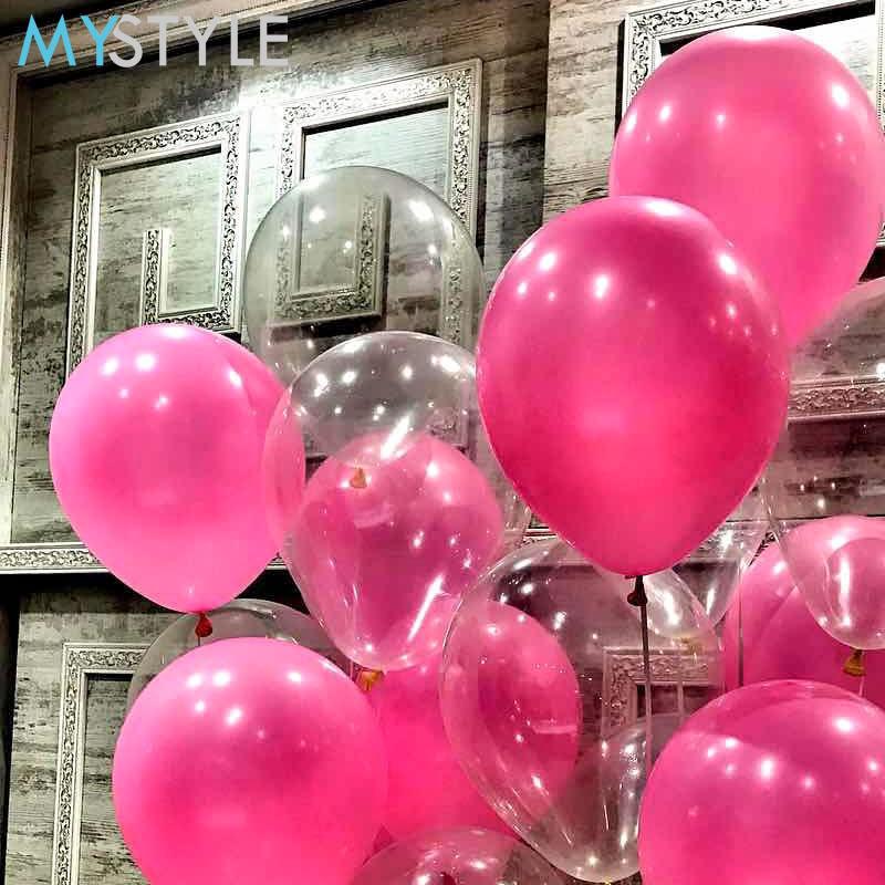 Balon Metallic Isi 10 Pcs 1 Warna Warna Warni High Quality Balon