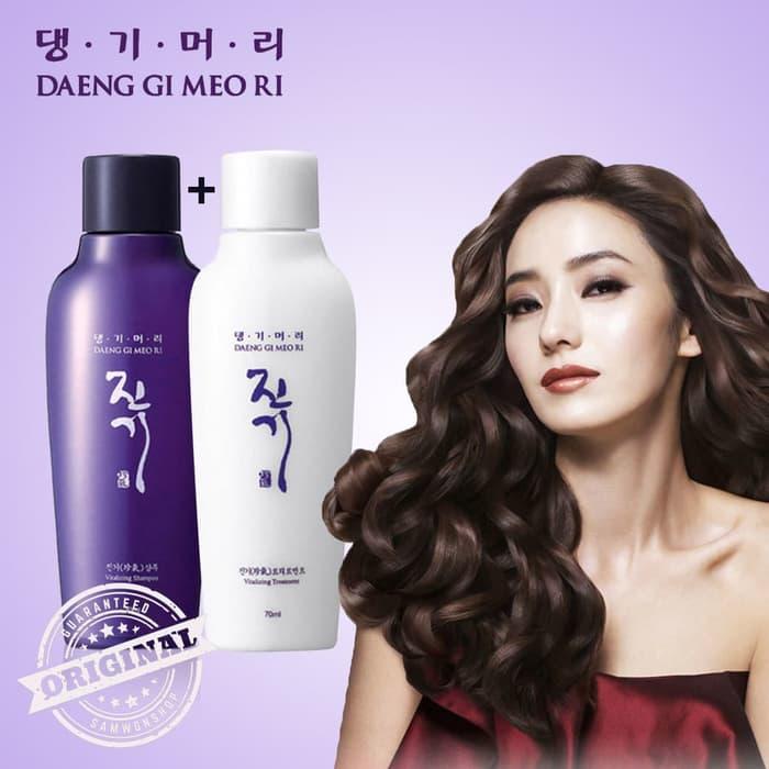 Detail produk dari Paket Daeng Gi Meo Ri Vitalizing Shampoo + Treatment 145 ml