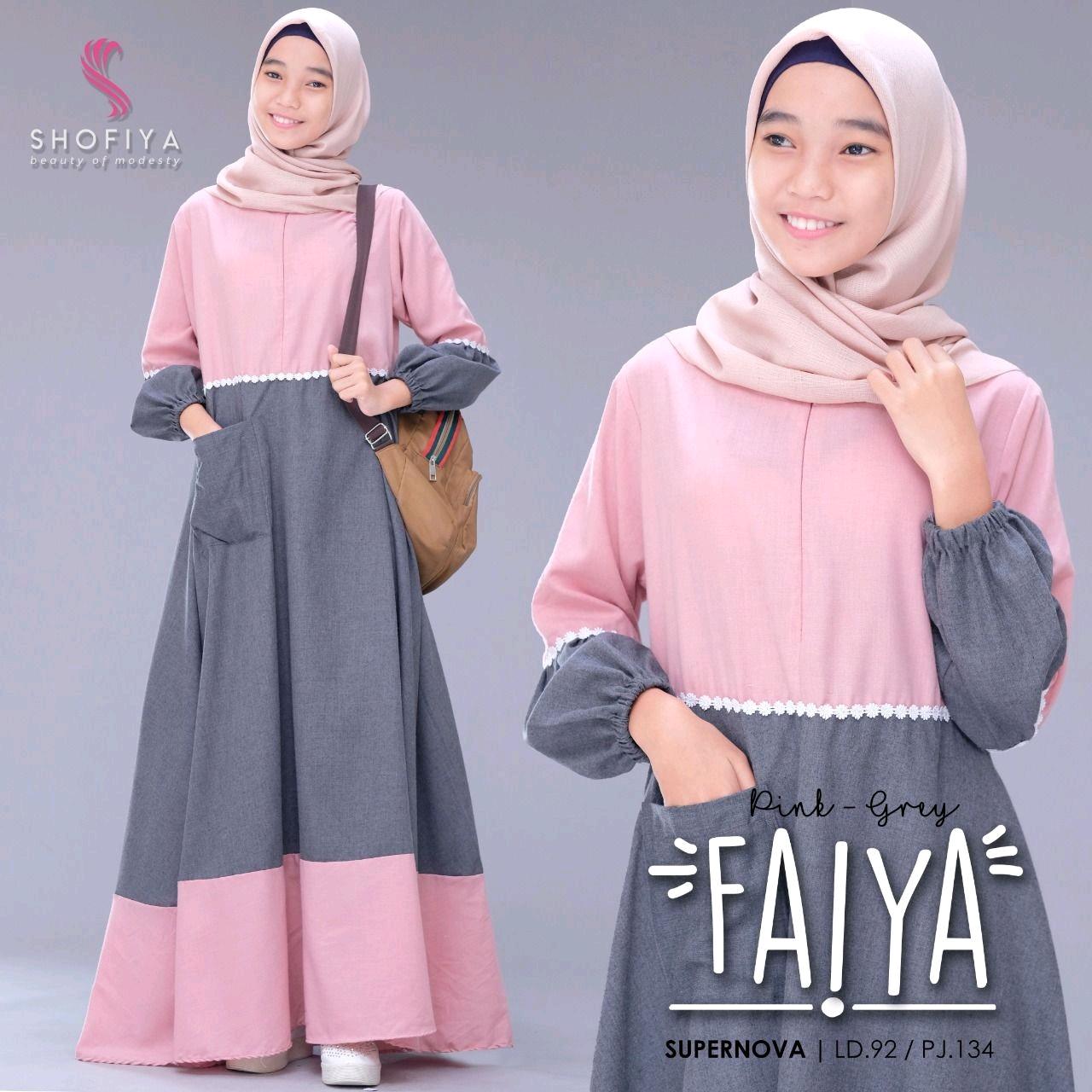 Je Faiya Dress Bahan Supernova Gamis Remaja Modern Gamis Remaja Kekinian Gamis Remaja Murah Bagus Dress Panjang Wanita Gamis Terbaru 2020 Modern Gamis Remaja Tanggung Lazada Indonesia