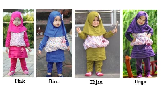 Harga Jual Elbi Baju Muslim Anak Perempuan Baju Muslim Balita