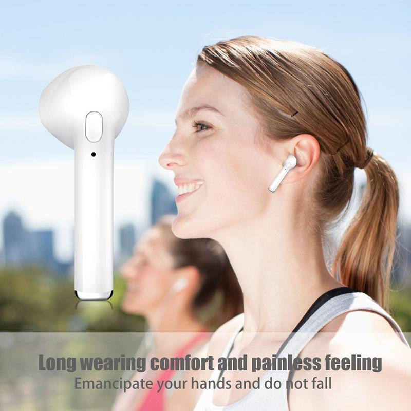 Toserba Sinlen Earphone Bluetooth I7s Headset Bluetooth Wireless Sport True Earphone Airpods Lazada Indonesia