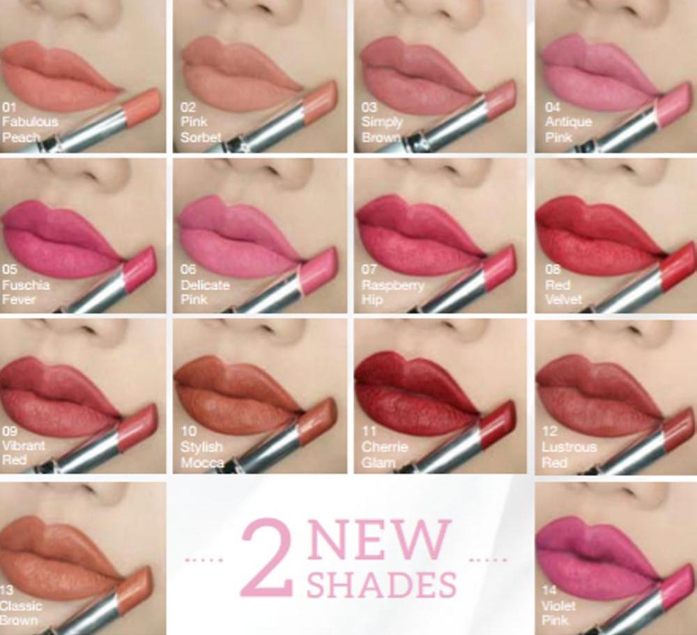 Wardah Longlasting Lipstick 08 Red Velvet Lipstik Wardah Lazada