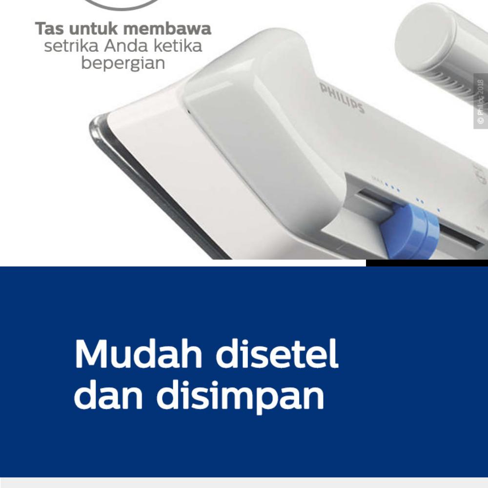 Philips HD1301/38 Setrika Travel - Putih. Rp 457.000. Beli Sekarang