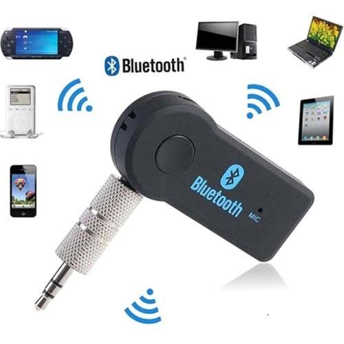 Wireless  Audio Music Receiver 3.5mm Adapter Handsfree Car AUX Speaker