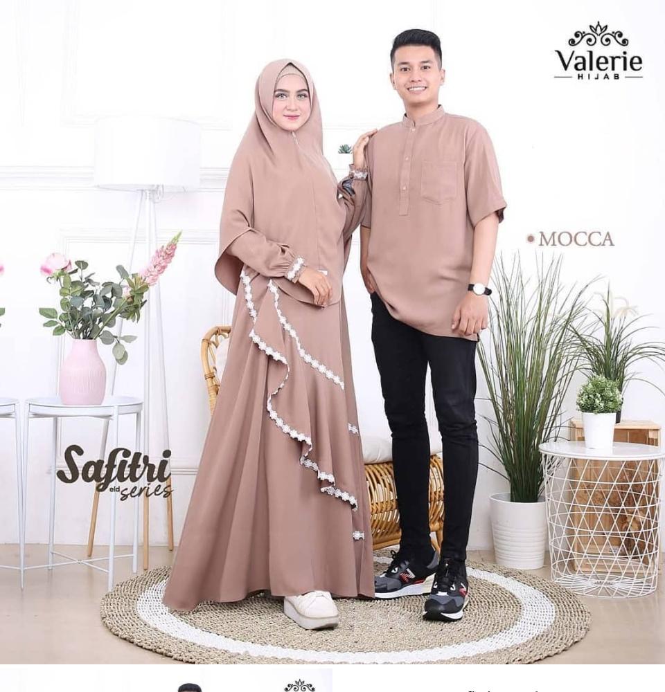 Gamis Kondangan Model Baju Pesta Couple 2020 Hijabfest