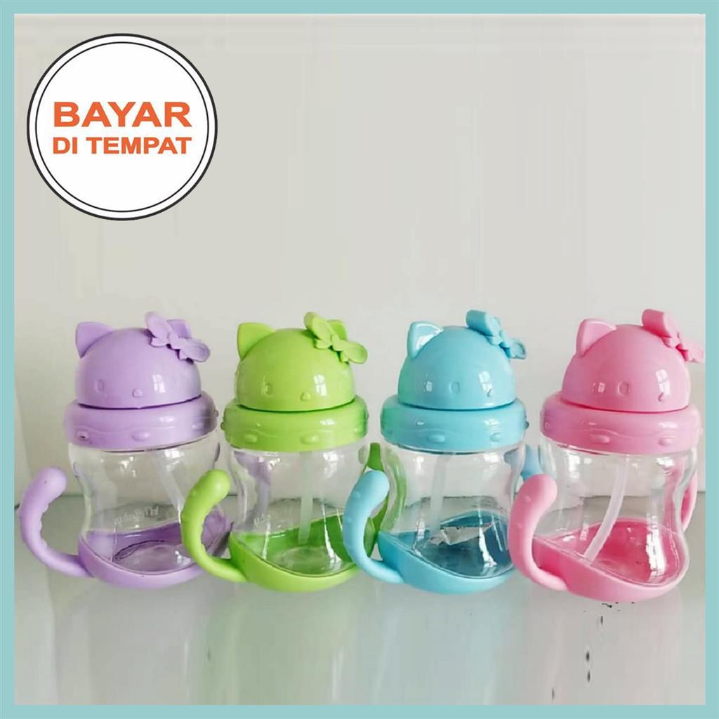 Spesifikasi dari Botol Minum Anak / Botol Minum Bayi / Botol Minum Susu / Botol Original / Botol Minum Sedotan / Botol Minum Import / Botol BPA Free / Botol ...