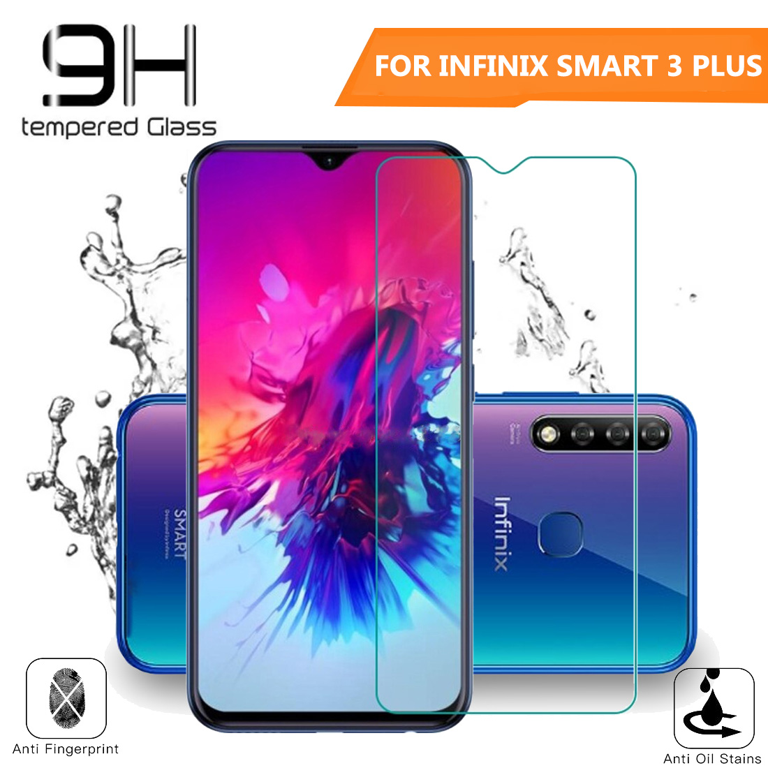 Beauty Tempered Glass Full Infinix Smart 3 Plus Ukuran 6 2 Inch 9h