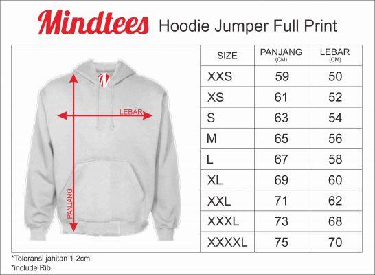 Image result for ukuran jaket hoodie