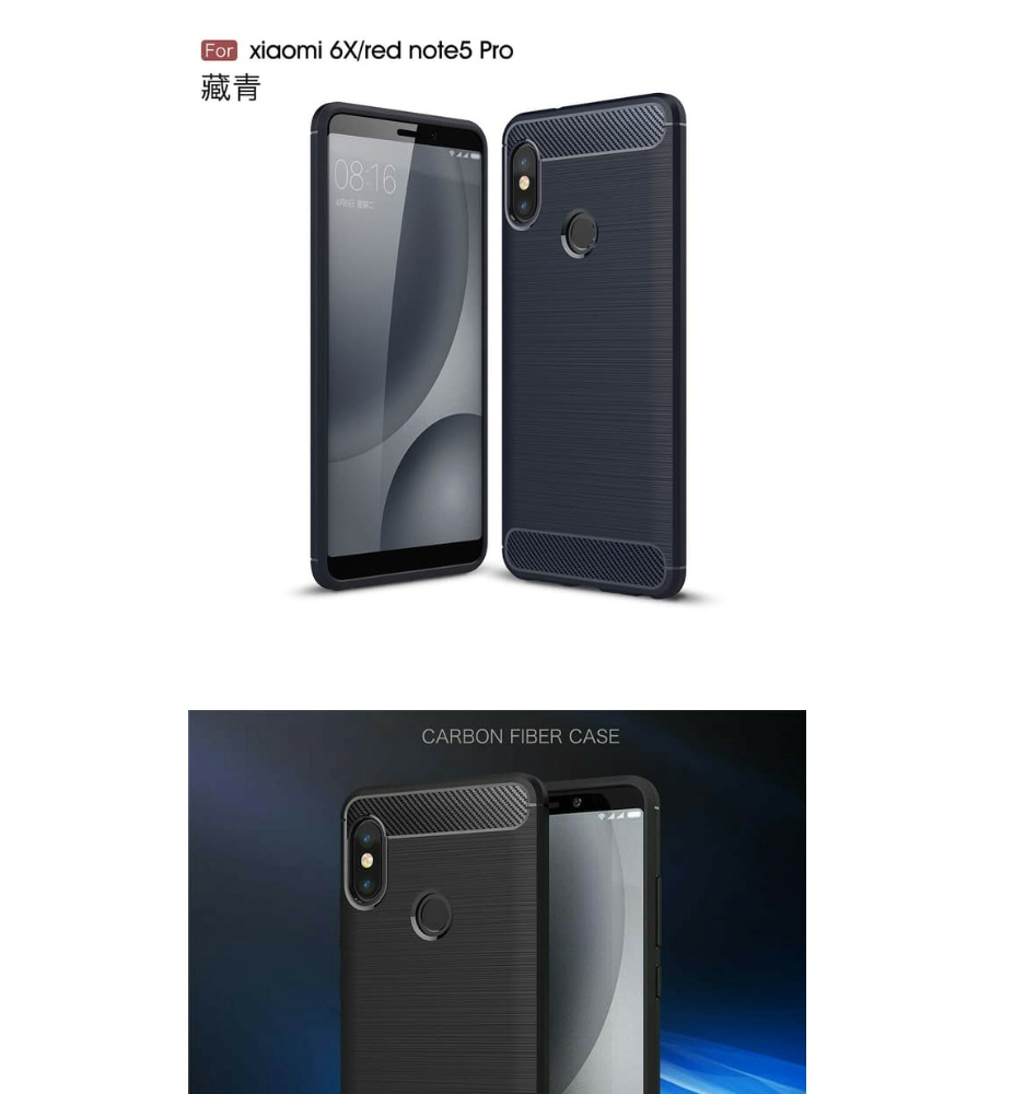 Harga Case Xiaomi Redmi Note 5 Pro Ipaky Carbon Casing Silikon Fiber Matte For Beli Sekarang