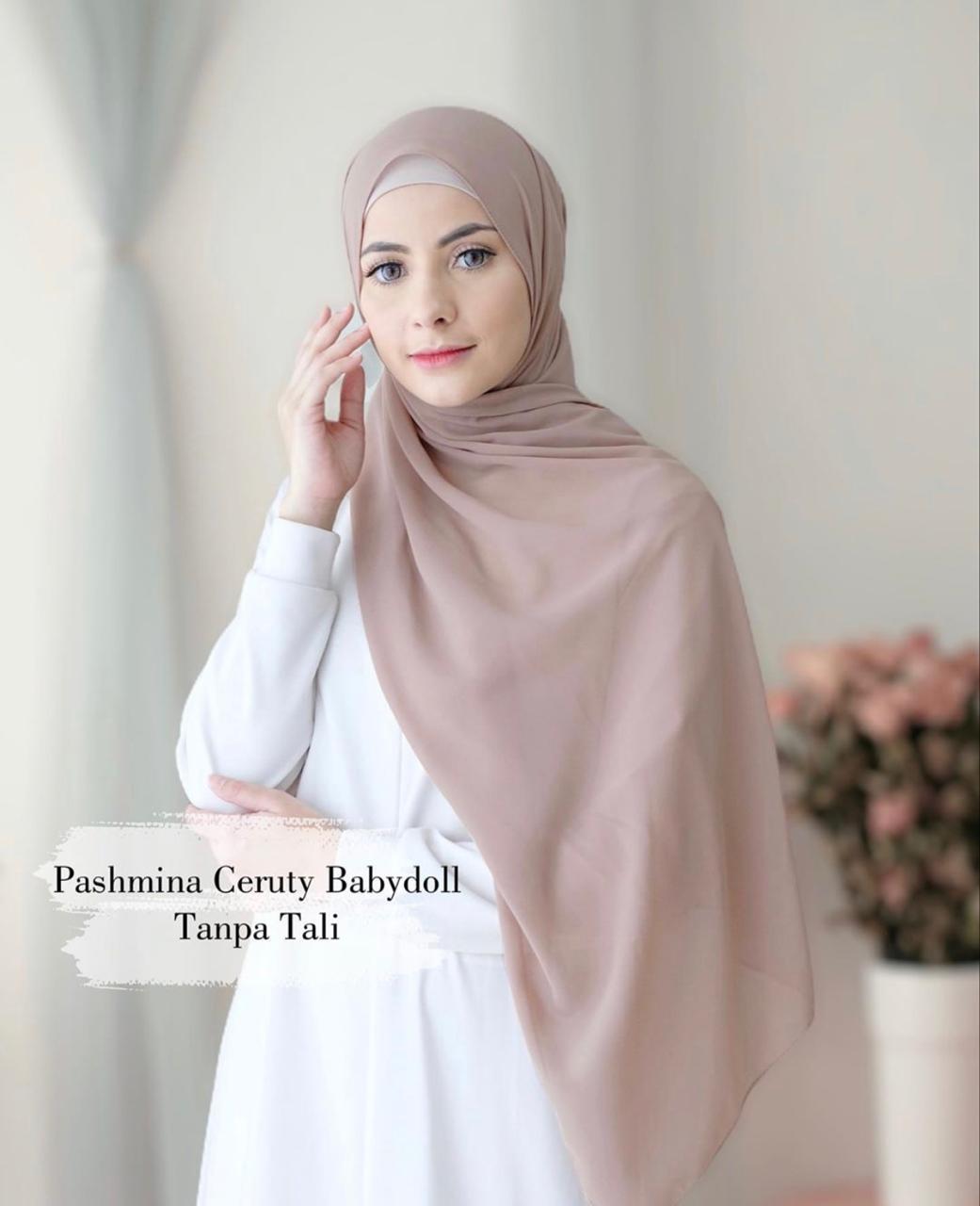 Vvv Fashion Kerudung Pashmina Ceruti Baby Doll Pasmina Ceruty Baby Doll Jilbab Perempuan Gadis Remaja Wanita Tanpa Tali Murah Panjang 2020 Terbaru Kekinian Cod Bisa Bayar Di Tempat Hijab Terbaru 2020