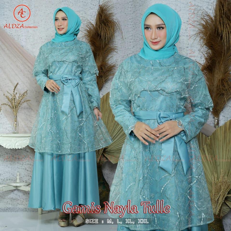 Setelan Kebaya Gamis Terbaru Kebaya Sabrina Kebaya Modern Kebayaku Kebaya Model Long Dress Terbaru Lazada Indonesia