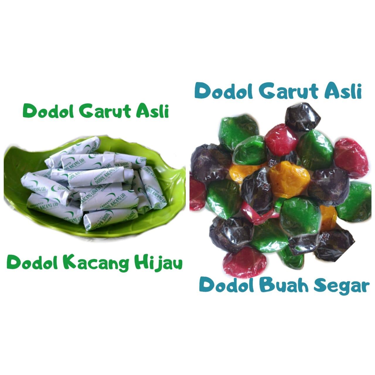 Oleh Oleh Sunda Cod Makanan Ringan Dodol Garut 500 Gram Campur