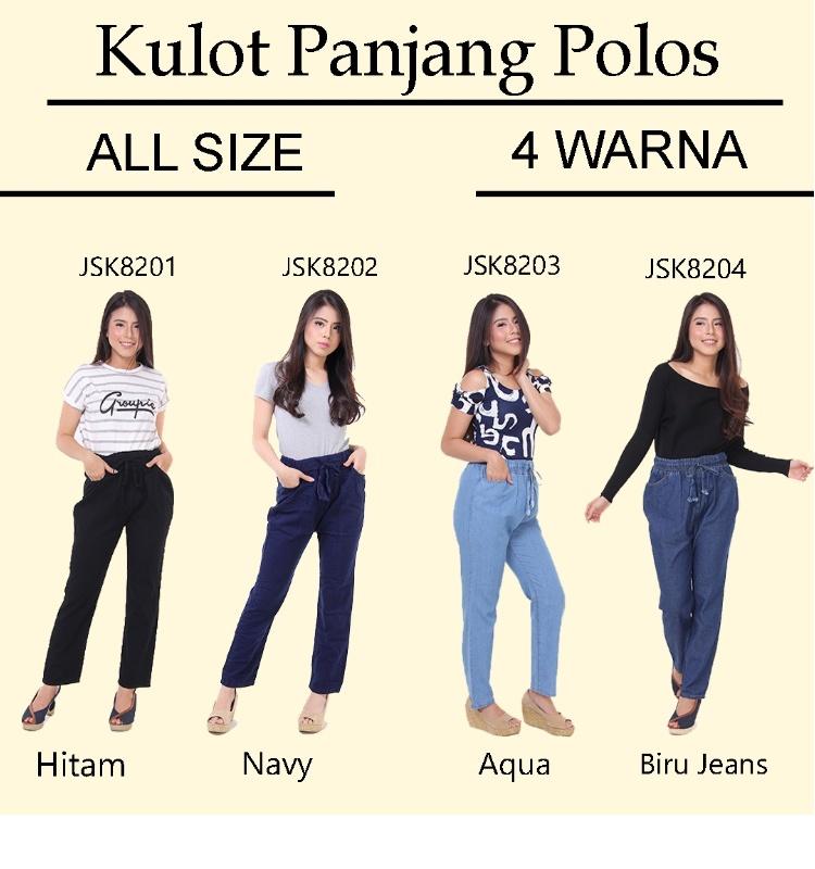 JSK Celana panjang Jeans wanita terbaru
