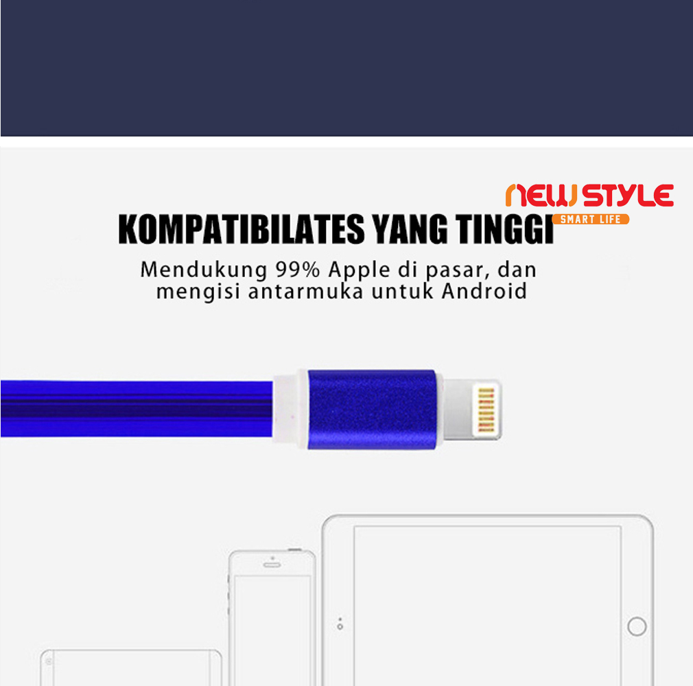 Harga New Style Kabel Data Charger Casan Led Streamer Warna Warni Buy 1 Get 7 Mar Cell Produk Lain