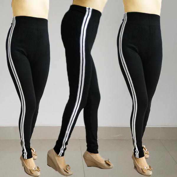 Promo Stripe Pants Celana Strip List 2 Garis Putih Bahan Scuba Celana Wanita Baggy Pant Sport Lazada Indonesia