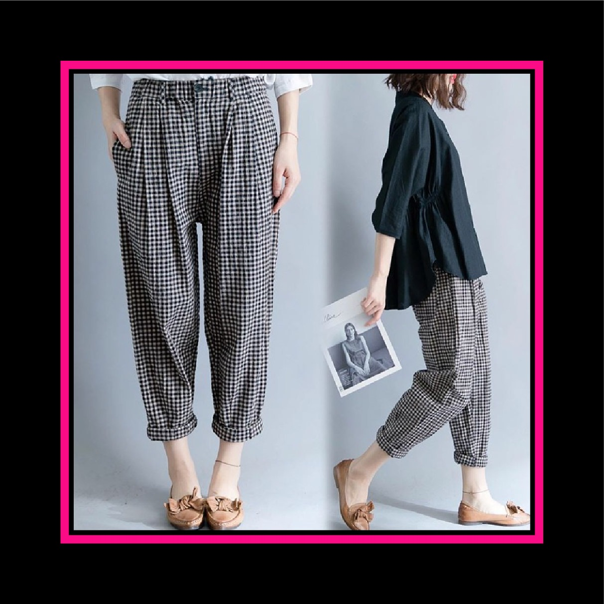 RICARDOF - Sweater Crop Basic / Sweater Wanita / Sweater Crop / Atasan Wanita / Sweater Korea / Fashion Terkini