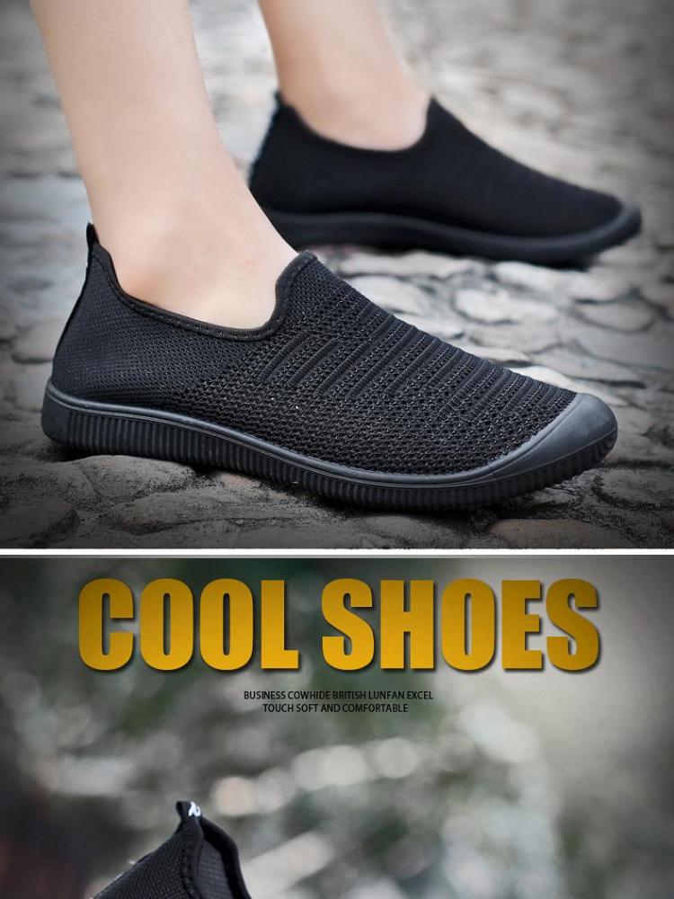 DaDeng Musim Panas Mesh Bernapas Pria Sepatu Ringan Pria Flats Mode Kasual  Pria Sepatu Desainer Pria 19836ac400