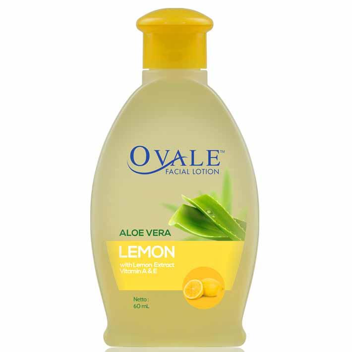 Ovale Facial Lotion Lemon 60ml Opal Pembersih Wajah Oval Pembersih Muka Ovale Pembersih Wajah Ovale Lemon Ovale Facial Lotion Toner Ovale Toner Wajah Ovale