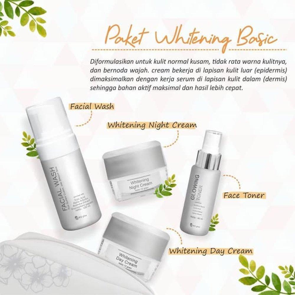 Ms Glow Whitening Series By Cantik Skincare Cream Perawatan Kulit Aman Berbpom Dan Halal Putrishopcollection Lazada Indonesia