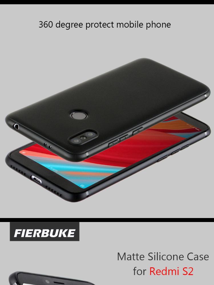 Caselova Anti Fingerprint Premium Quality Ultraslim Soft Matte Hybrid Case for Xiaomi Redmi S2 ( 5.99