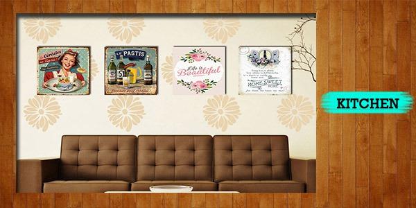 Poster Kayu Tema Khaligrafi. Hiasan dinding .