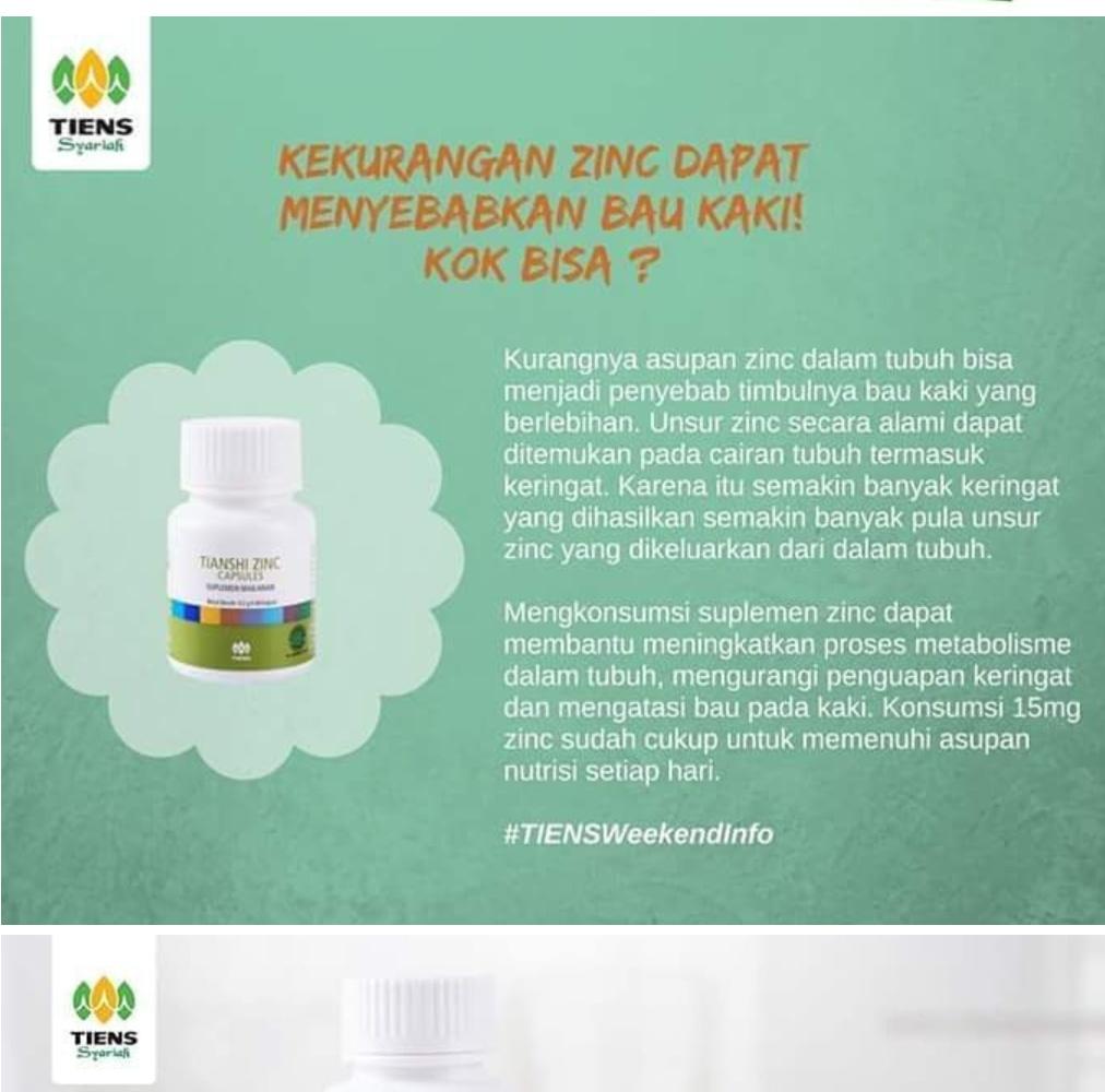 Harga Tiens Penggemuk Badan Herbal Multivitamin Penambah Berat Paket 1 Zinc Spirulina Order Via Lazada