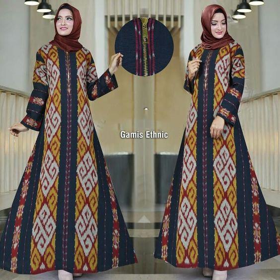 Gamis Tenun Blanket Kualitas Premium Best Seller Lazada Indonesia