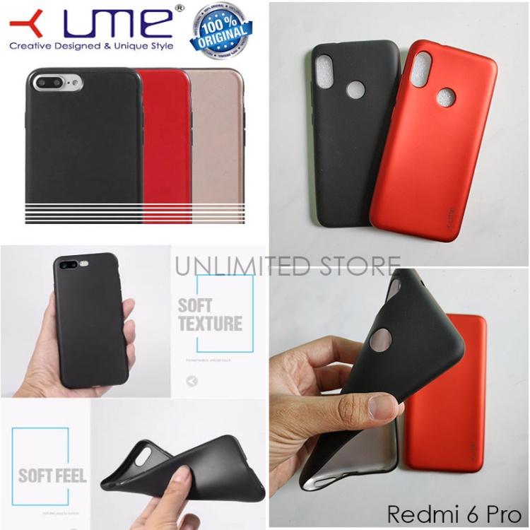 Jelly Case Ume Emerald Softcase untuk Xiaomi MiA2 Lite - Mi A2 Lite - Redmi 6