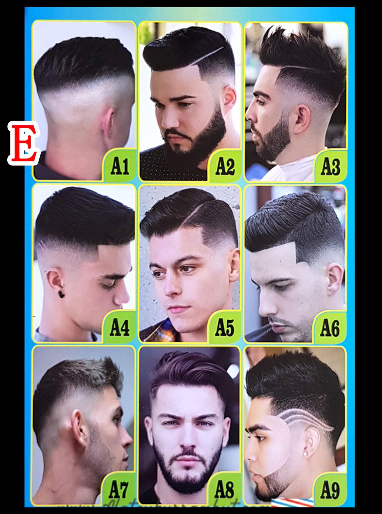 Poster Pangkas Rambut Barber Shop Model Gaya Rambut Pria Terkini Potong Rambut Pria Remaja Terbaru Poster Barber Poster Gaya Rambut Gambar Model Rambut Lazada Indonesia